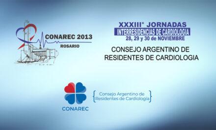 33º Congreso Interresidencias CONAREC 2013