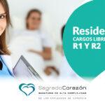 Vacantes en Cardiología R1 y R2 en el Sagrado Corazón