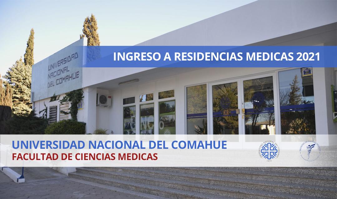 Ingreso a residencias en Cardiología Universidad Nacional del Comahue