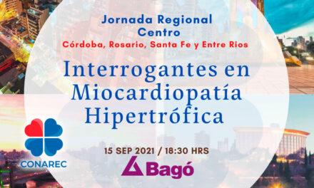 Jornada regional zona Central Interrogantes en Miocardiopatia Hipertrófica